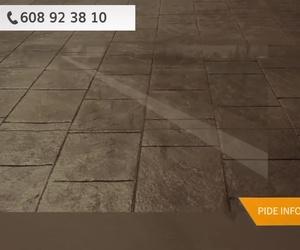 Pavimentos de hormigón en Segovia | Pavimentos Arco Iris