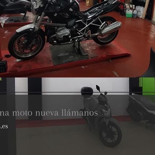 Talleres de motos Les Corts Barcelona