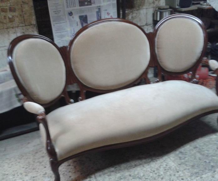 Sillones y sofa