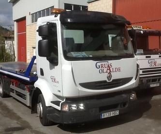 Asistencia en carretera: Servicios de Grúas Olalde