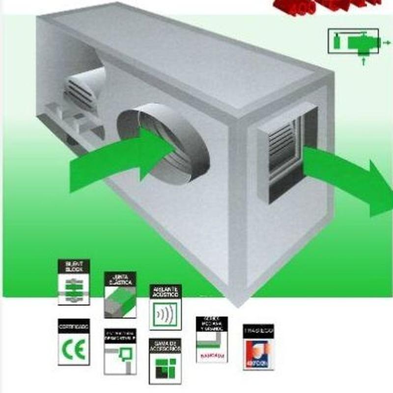 Otras cajas de ventilación: CATÁLOGO de Filair