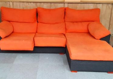 chais  lounge de oportunidad color naranja SOF 035