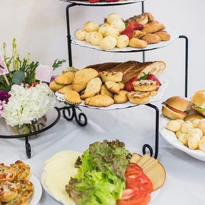 Originales ideas para que el catering de tu boda sea recordado por todos