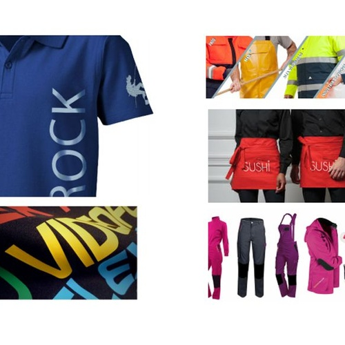 Realización y personalización en prendas y complementos