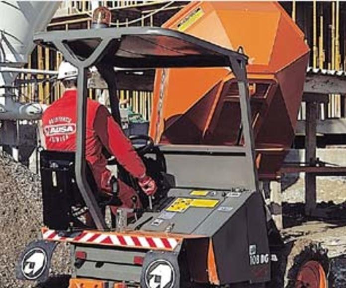 Dumpers marca Ausa con capacidad entre 1500 – 1750 kg: Catálogo de GRUPO GV