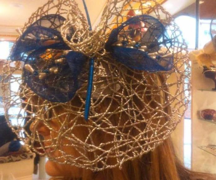 Tocados para ceremonia en Logroño