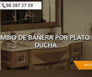 Cambiar la bañera por la ducha en Cullera: Sucar