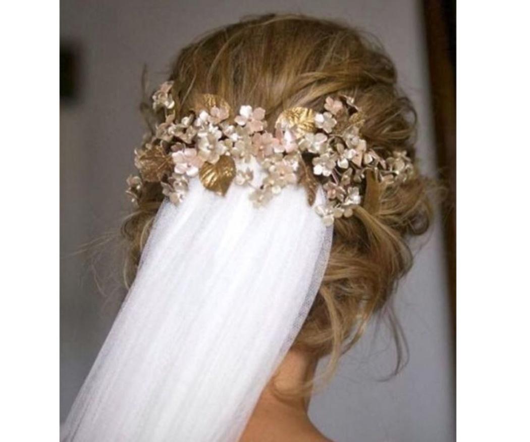 ¿Afecta el velo a mi peinado de boda?