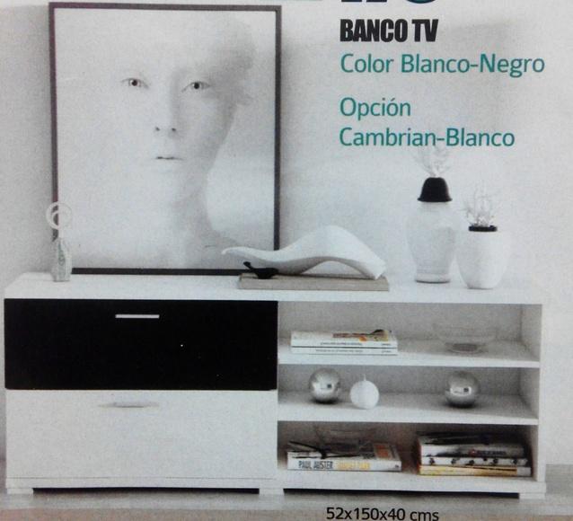 Banco tv: Productos  de Muebles Llueca, S. L.
