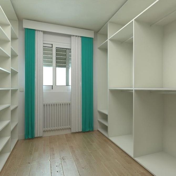 Algunas ideas para diseñar tu armario