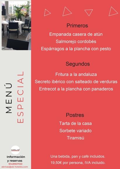 Restaurante Somallao Rivas Menú Especial Julio 2021