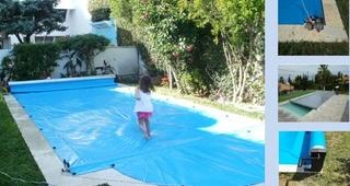 Cubierta de piscina par todo el año en Madrid