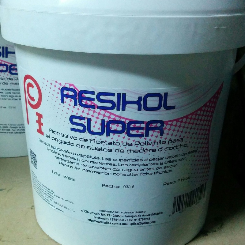 Adhesivo de madera Resikol: Productos y Servicios de Miguel Angel Peña - Eparquet