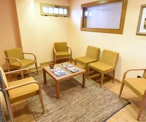 Amplia sala de espera