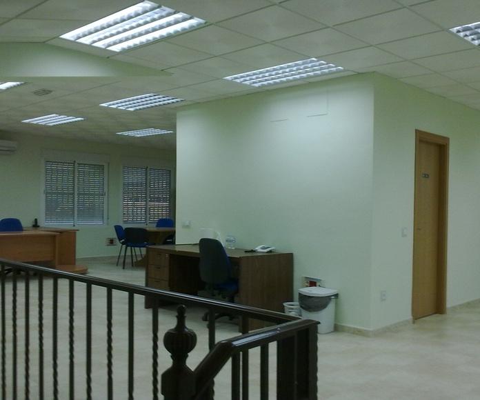 Locales comerciales: Instalaciones eléctricas de Instalaciones Eléctricas Sombra y Luz, S.L.