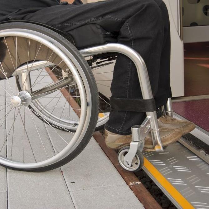 Los diferentes tipos de ruedas de una silla de ruedas