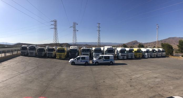 Flota de vehículos: Servicios de TRANSPORTES CIUDAD DE ALHAMA DE ALMERÍA, S.L