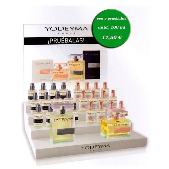 Venta de productos de línea de perfumes Yodeima: Productos y servicios de Peluquería Barbería Fco Guerrero