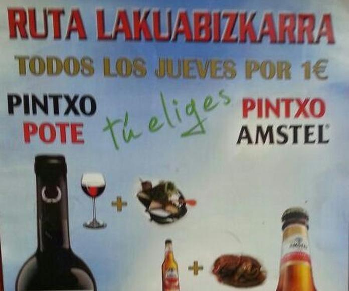Oferta Jueves: Especialidades de la casa de Cafetería Bayona