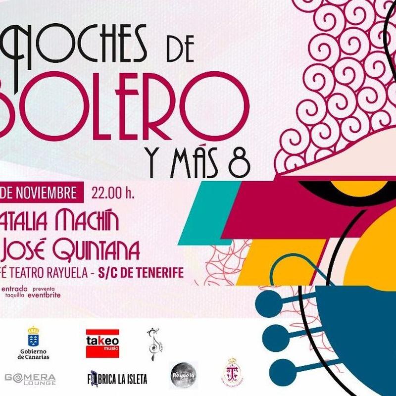 ¡NOCHE DE BOLEROS!: Programación de Café Teatro Rayuela