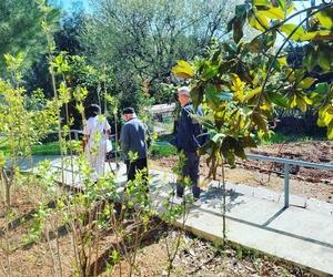Aprofitem el jardí i el bon temps per posar-nos morenos i moure les cames