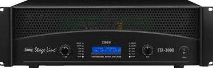 Amplificador estereo profesional STA-3000: Nuestros productos de Sonovisión Parla