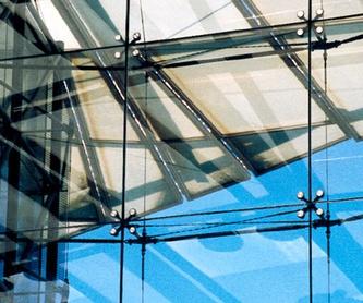 Barandilla en escalera: Servicios de Vidrios Coruña
