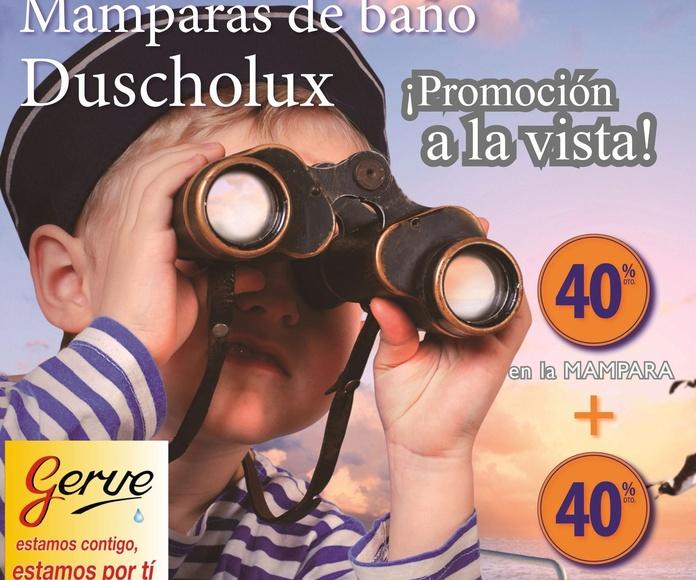 GRAN OFERTA EN MAMPARAS DE BAÑO Y DUCHA DUCHOLUX