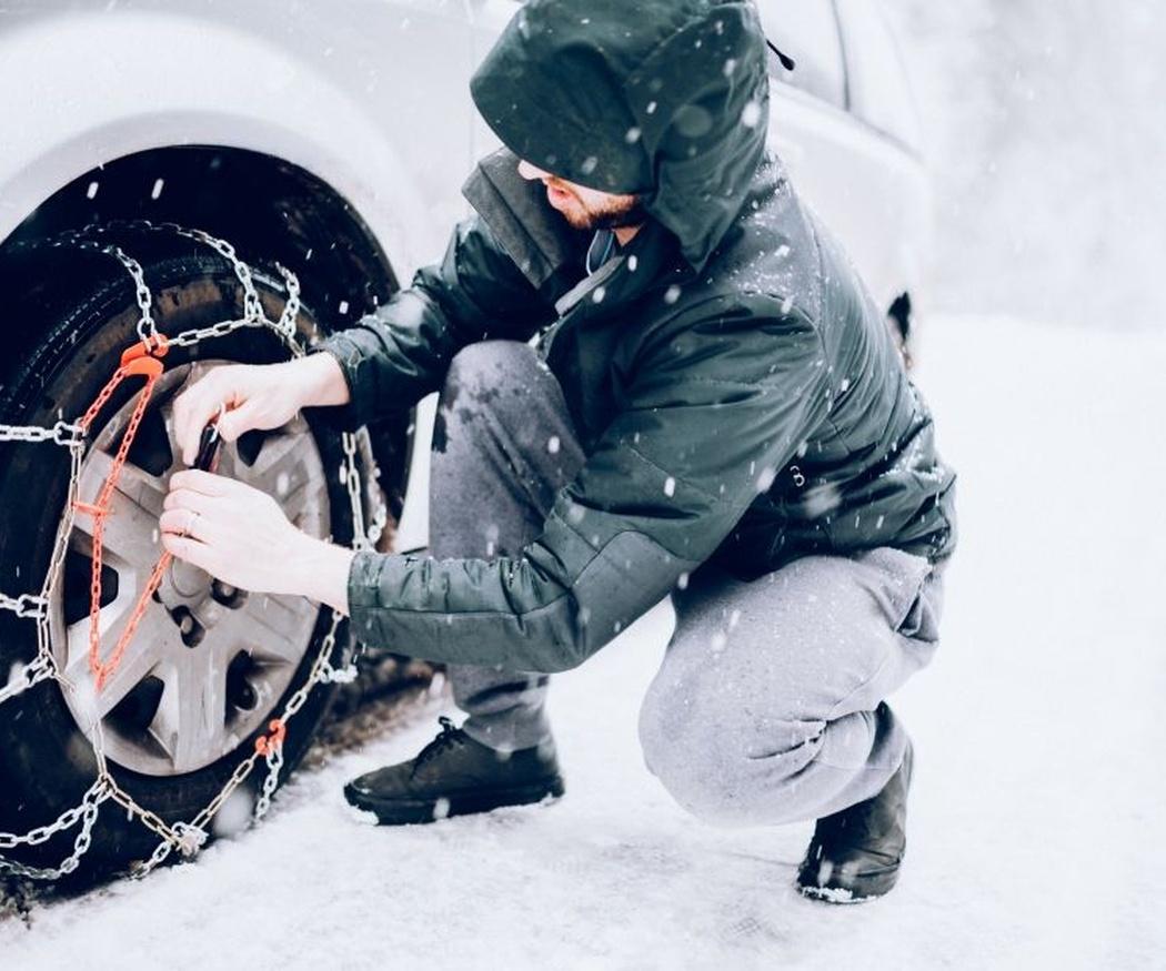 ¿Tienes cadenas para circular en invierno?