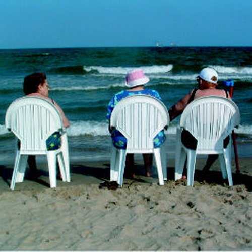 Residentes en la Playa de Malvarrosa