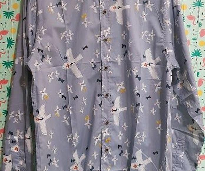 Camisa de pájaros y flores: Productos de Picnic Moda Urban