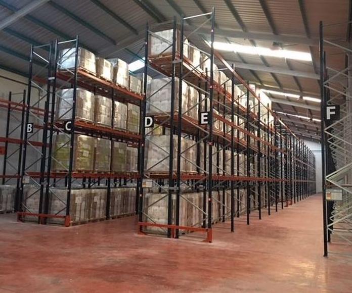 Empresa especializada en el almacenamiento de mercancías: Servicios de Grupo Logístico Albacete