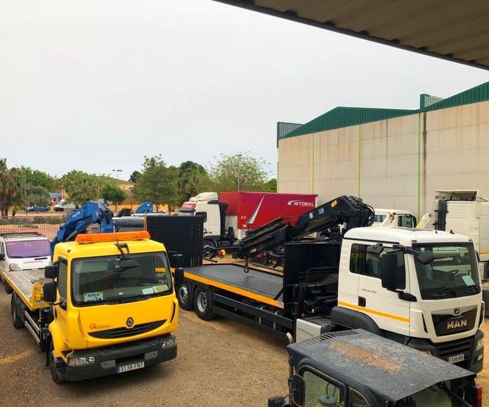 Venta e instalación de grúas Hiab: Maquinaria y servicios de Congrual