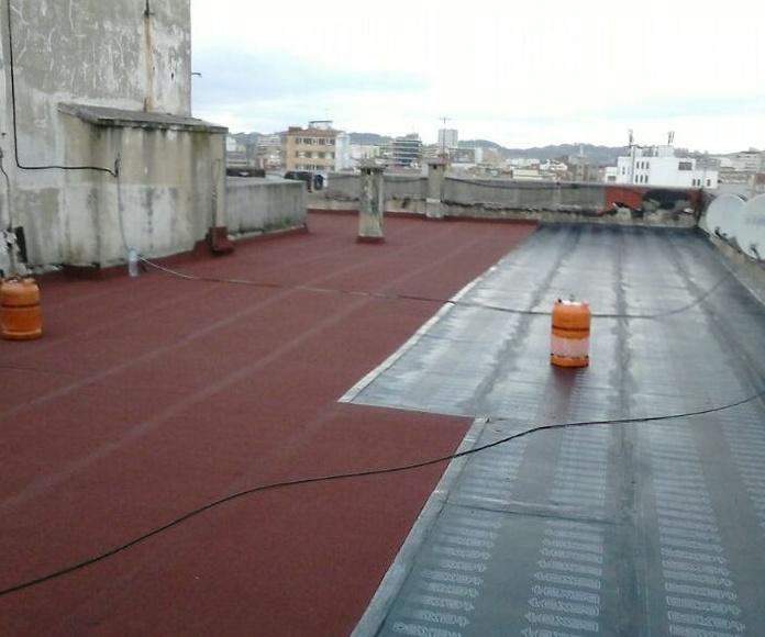 Impermeabilización tela asfaltica oviedo