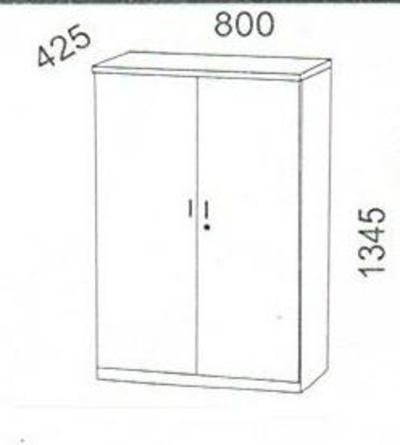 Armarios OFICINA  abiertos, armarios OFICINA con puertas,: Despatx