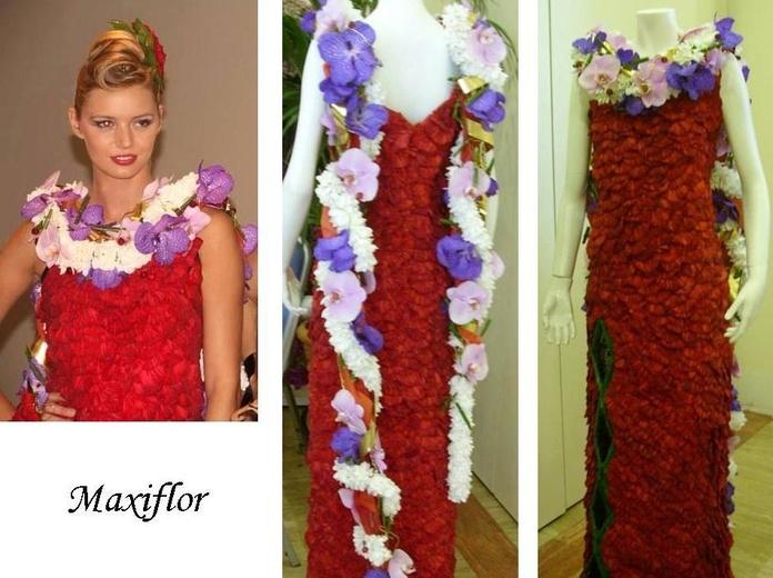 Trajes de flores naturales : Catálogo  de Floristería Maxiflor