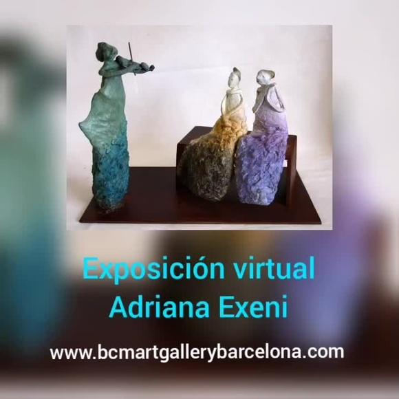Exposición virtual de la artista