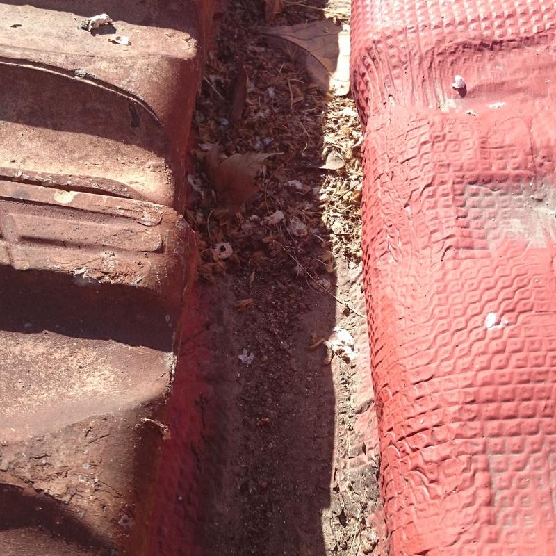 Limpieza y reparación de canalón: Trabajos realizados  de Cubiertas Imperdur, S.L.