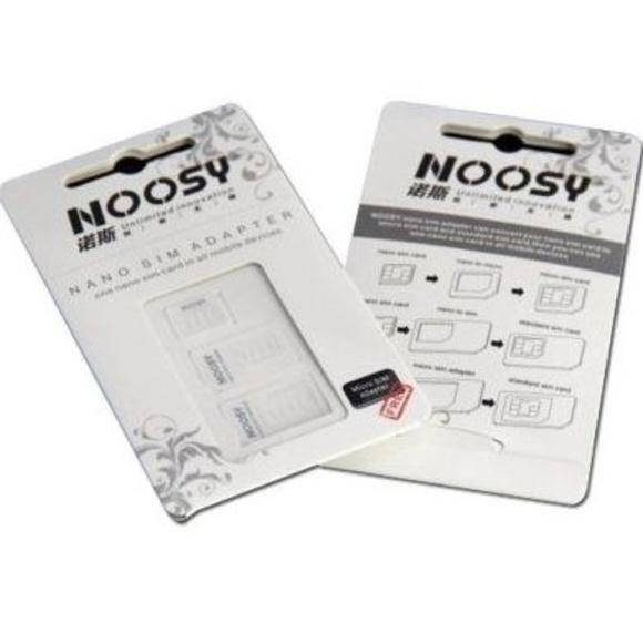 Noosy 1708 Kit Adaptadores de Nano / Micro SIM: Productos y Servicios de Stylepc