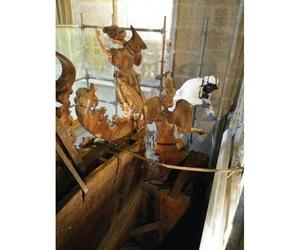 Tratamientos para retablos de madera en Oviedo