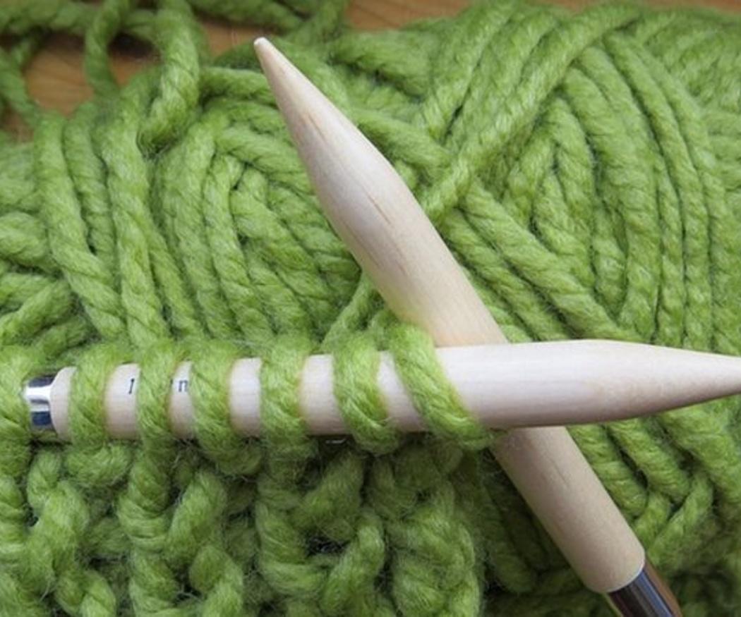 Tipos de agujas para tejer