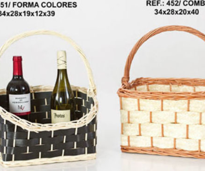 Empresa de artesanía y cestas para empresas. Servicio al por mayor. Especialistas en hostelería