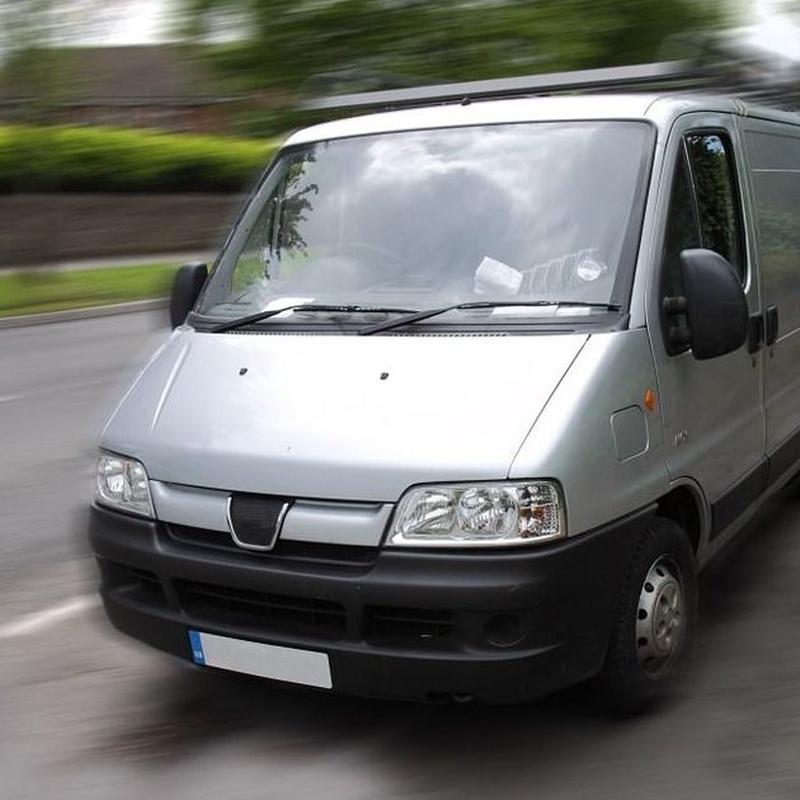 Flota de vehículos: Servicios de Mudanzas y Transportes Alzanorte