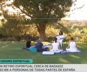 """Turismo espiritual"". Reportaje en TV"