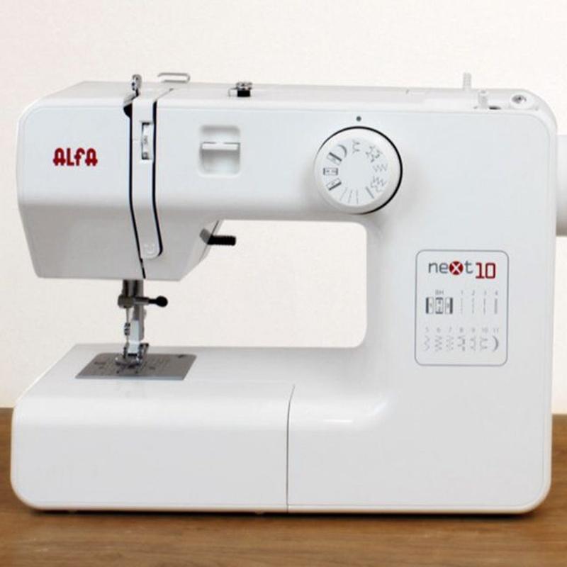 Alfa Next 10: Productos de Maquinas de Coser - Servicio técnico y repuestos