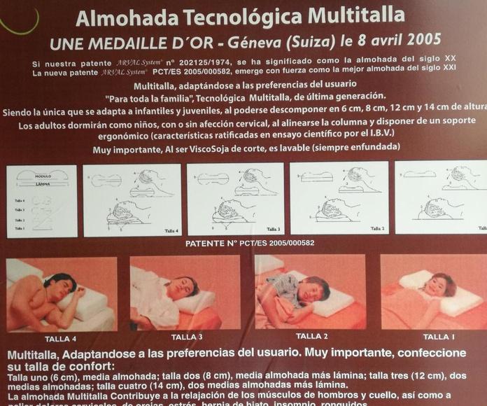 Almohadas: Productos de Diz Callón Descanso