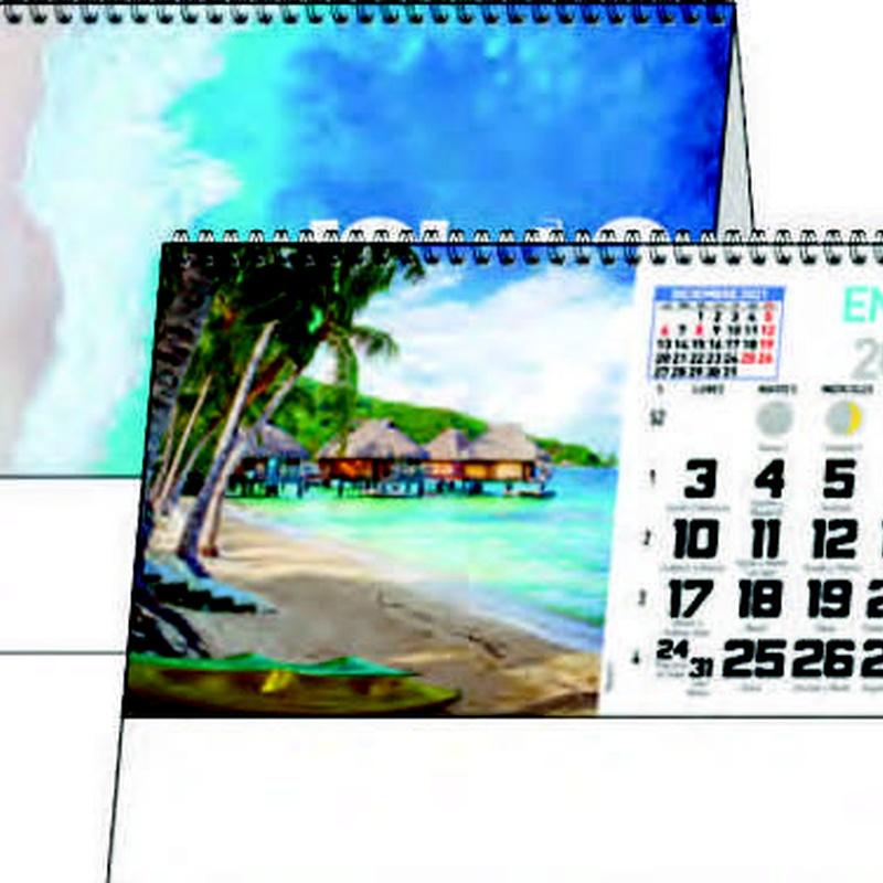 Ref. 63 - Islas: Nuestros Productos de Gráficas Kalendex