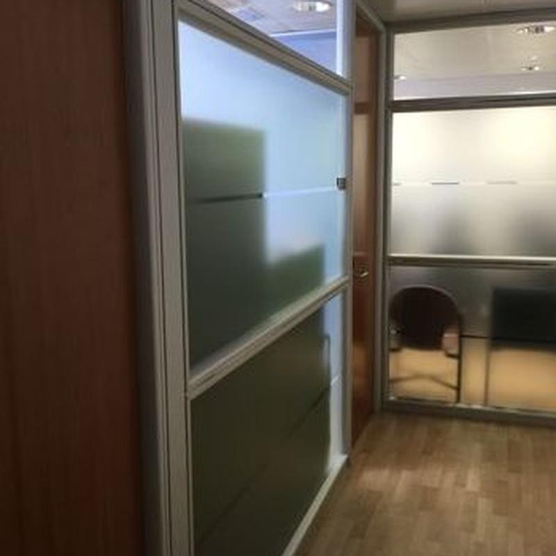 Puertas correderas: Carpintería de aluminio de Carpintería de Aluminio Alberto Mellado