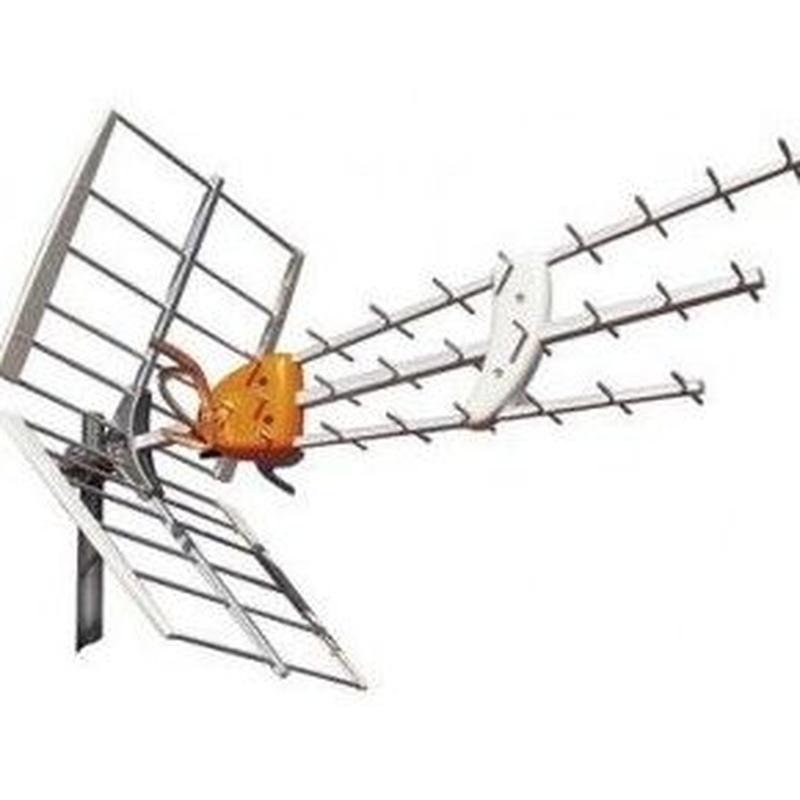 Antenas colectivas : Servicios de Electricidad Mario Payá