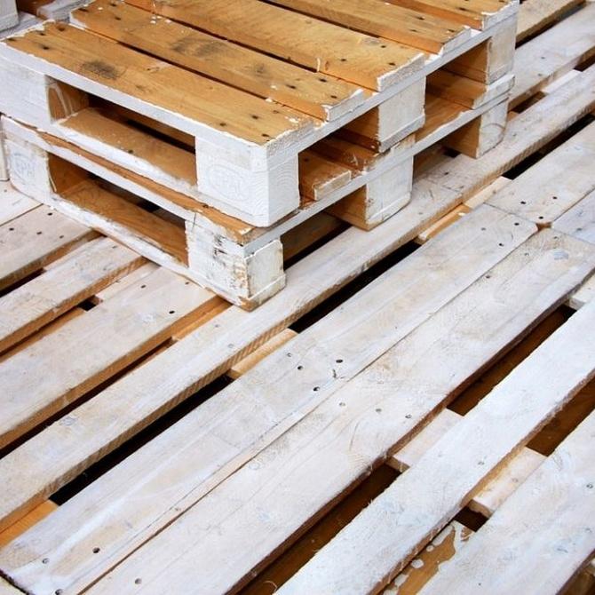 El origen del palet de madera